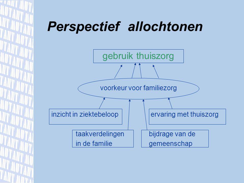 Perspectief allochtonen