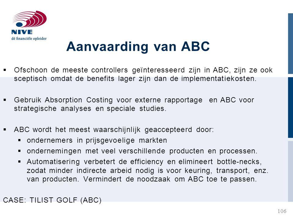 Aanvaarding van ABC