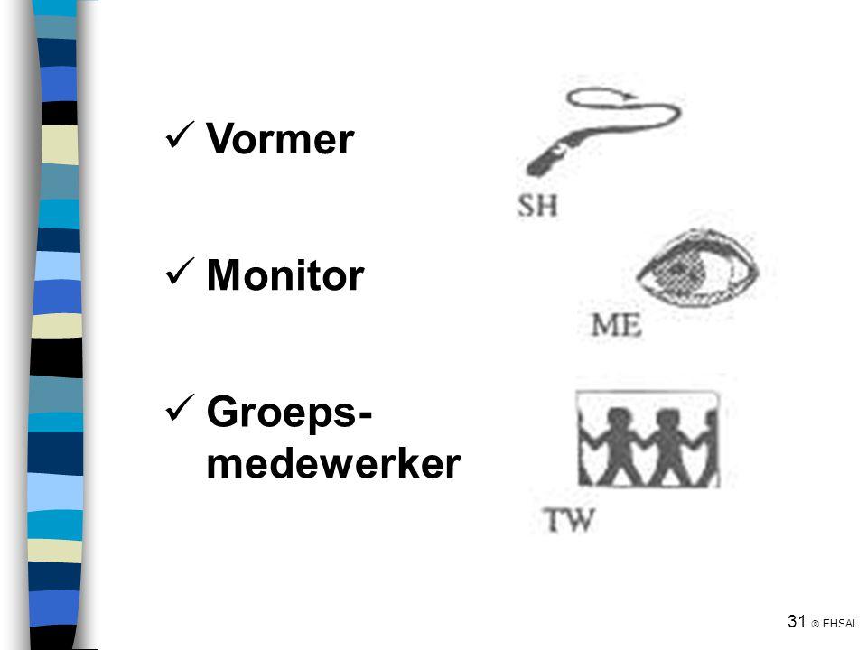 Vormer Monitor Groeps- medewerker