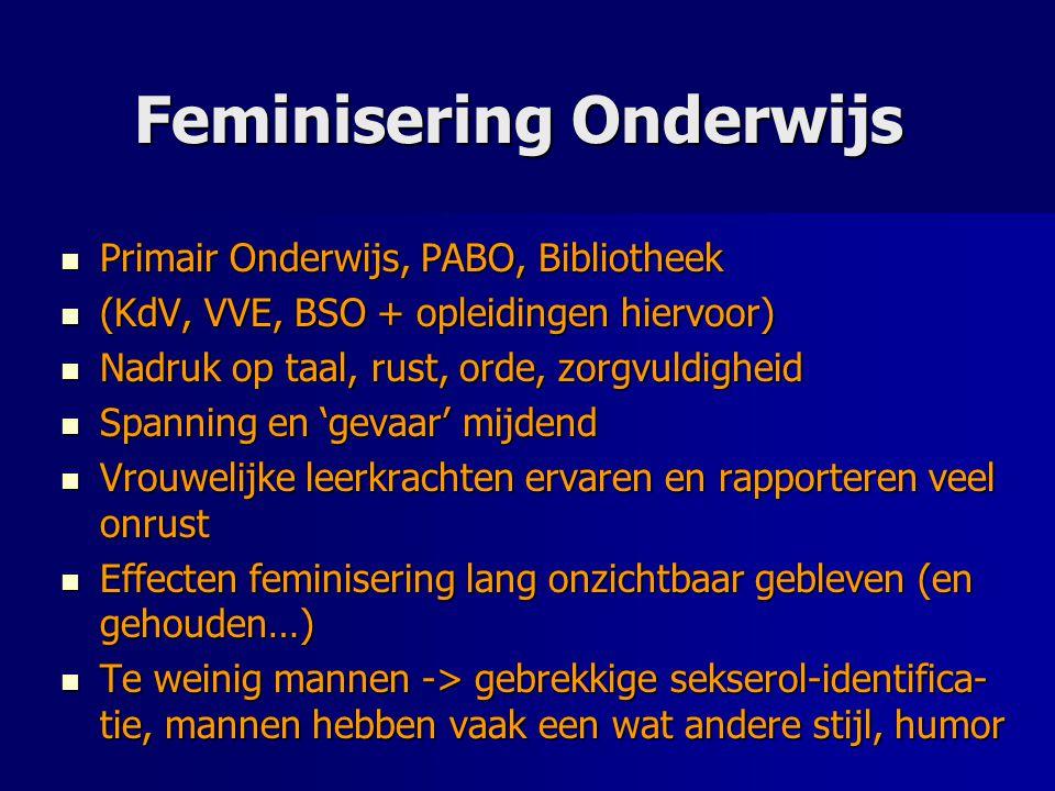 Feminisering Onderwijs