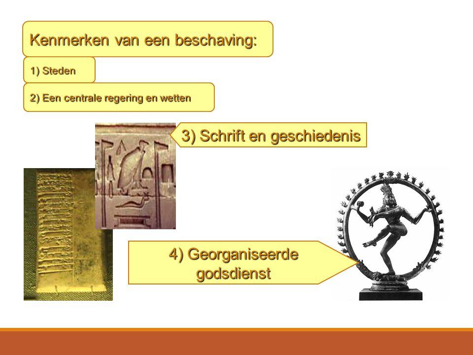 Kenmerken van een beschaving: