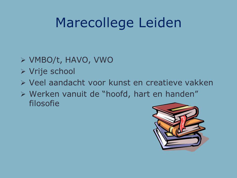 Marecollege Leiden VMBO/t, HAVO, VWO Vrije school