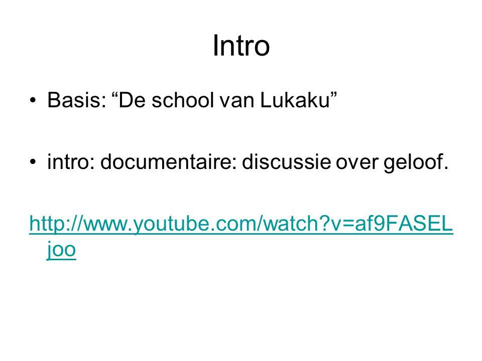 Intro Basis: De school van Lukaku