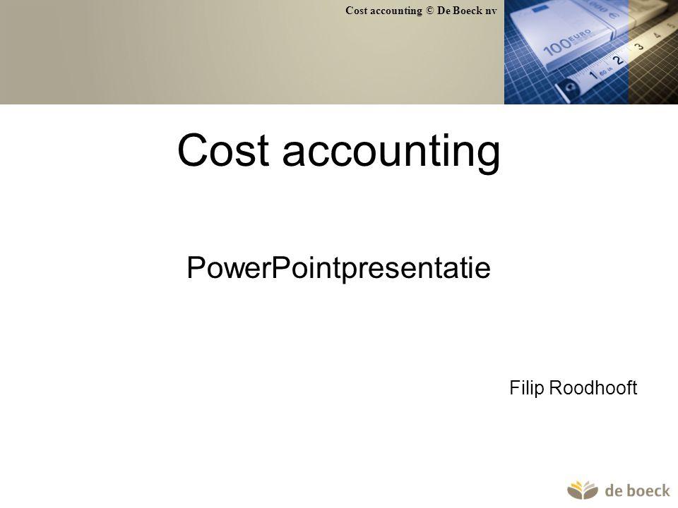 PowerPointpresentatie