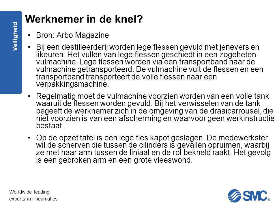 Werknemer in de knel Bron: Arbo Magazine