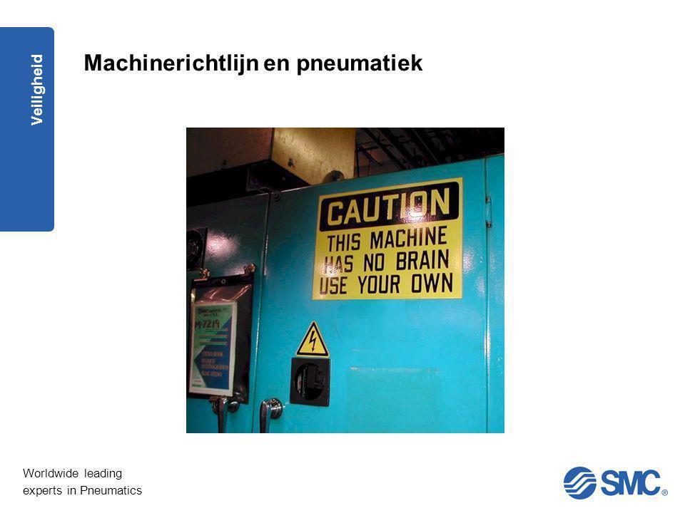 Machinerichtlijn en pneumatiek