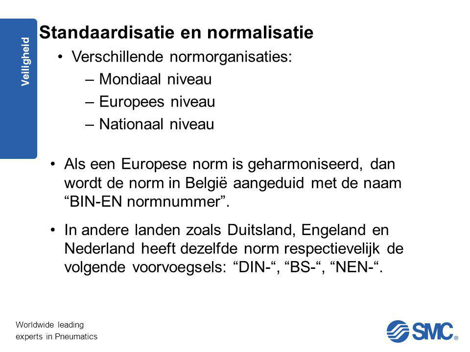 Standaardisatie en normalisatie