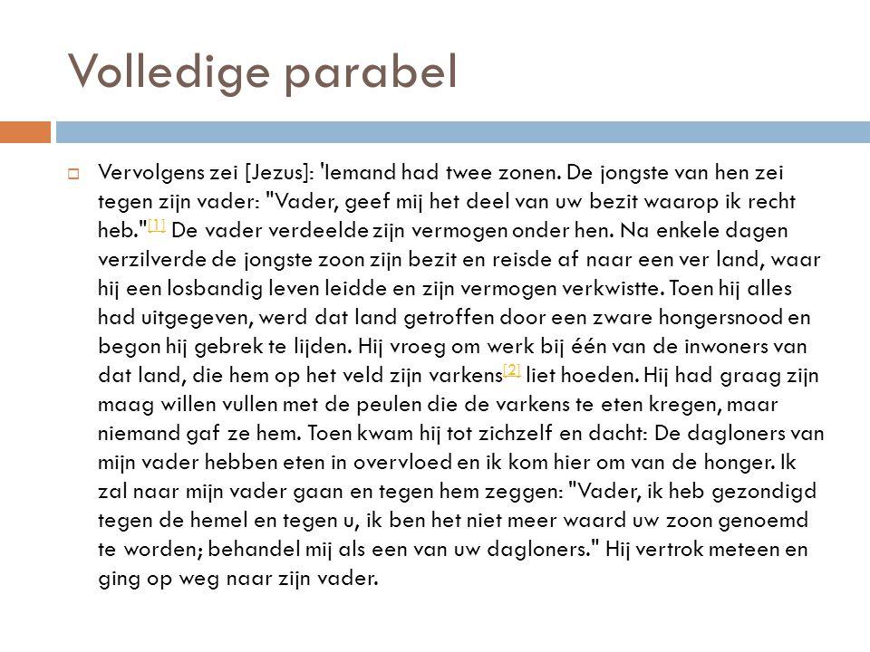 Volledige parabel