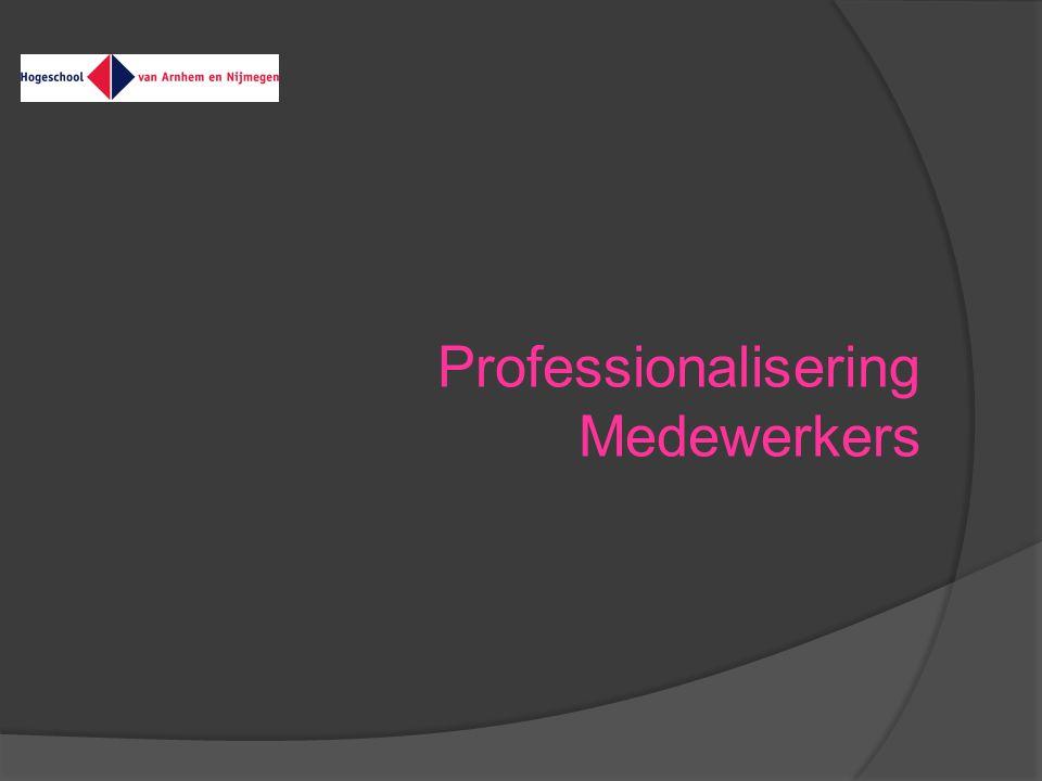 Professionalisering Medewerkers