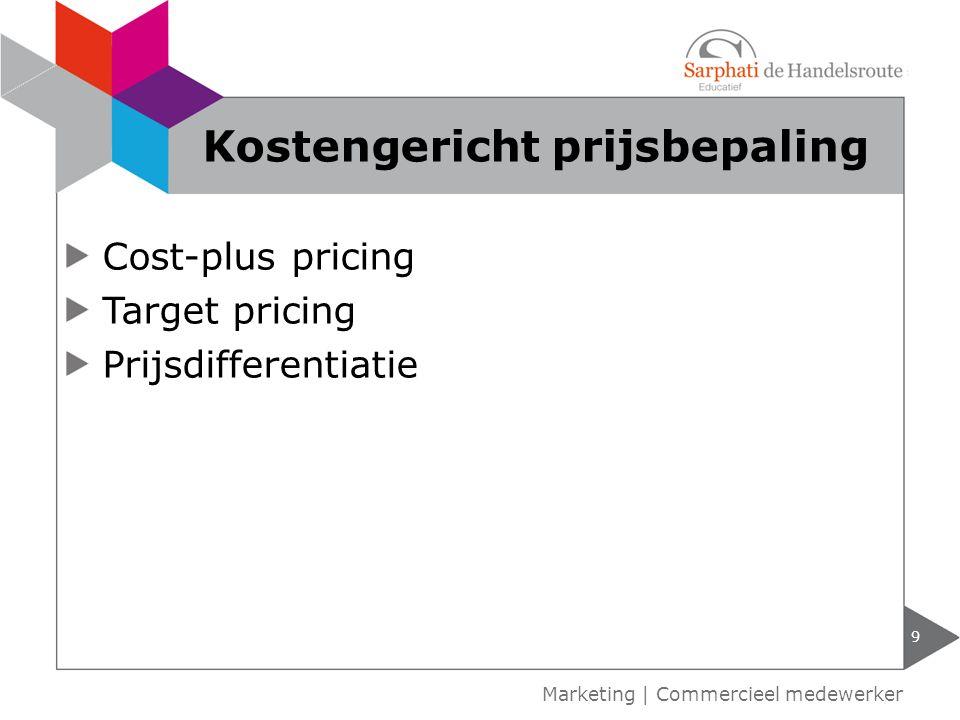 Kostengericht prijsbepaling
