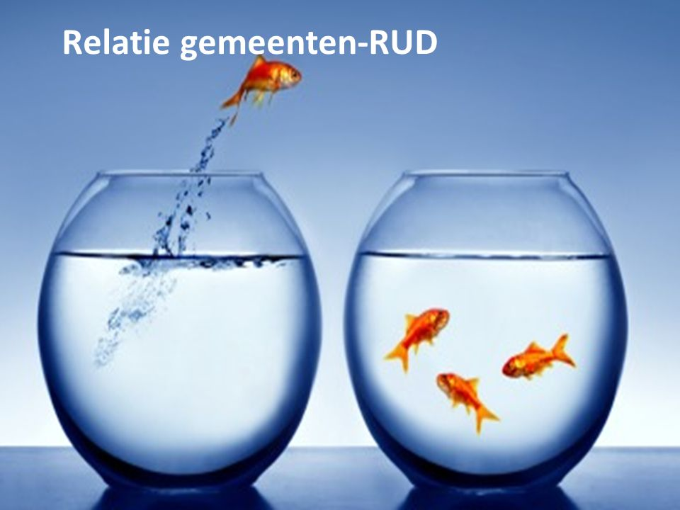 Relatie gemeenten-RUD