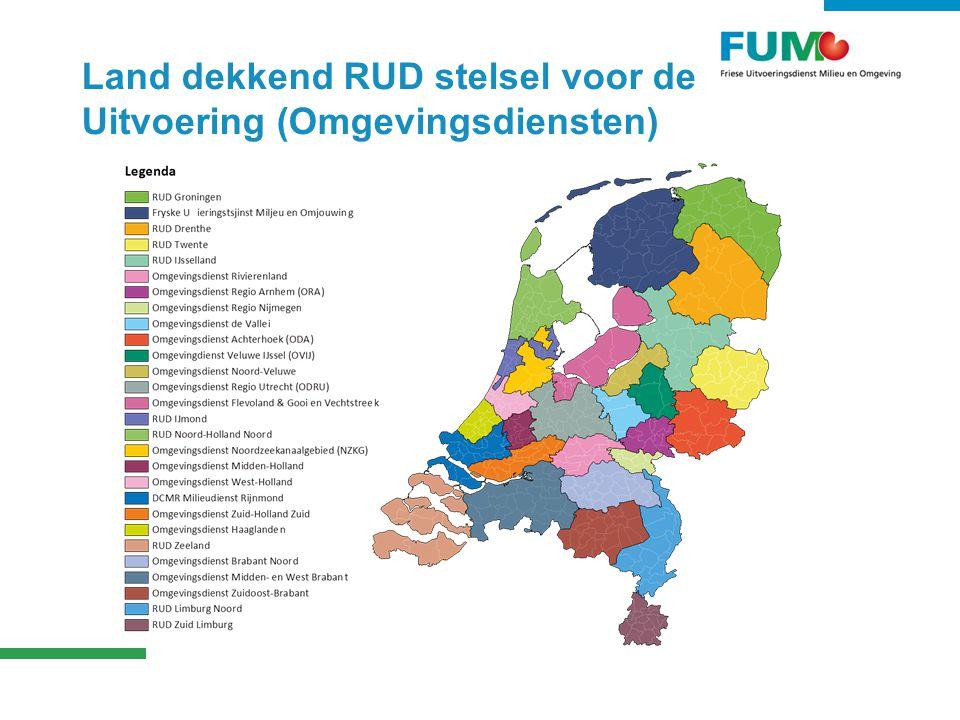 Land dekkend RUD stelsel voor de Uitvoering (Omgevingsdiensten)