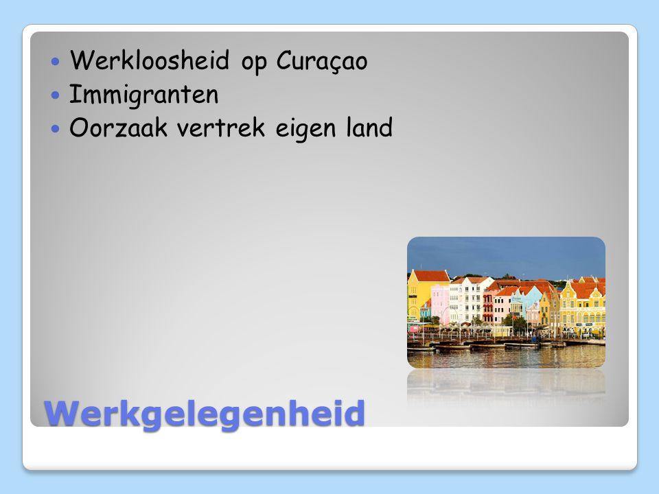 Werkgelegenheid Werkloosheid op Curaçao Immigranten