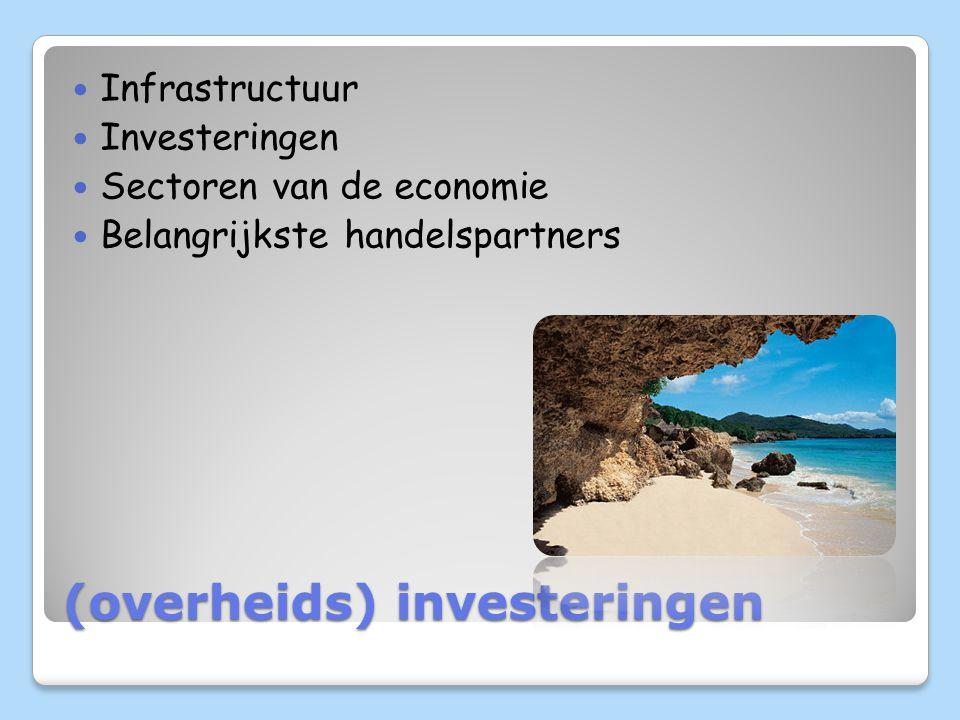 (overheids) investeringen