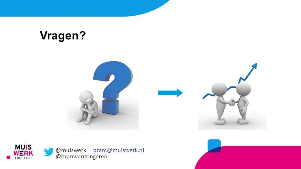 Vragen @muiswerk bram@muiswerk.nl @bramvantongeren