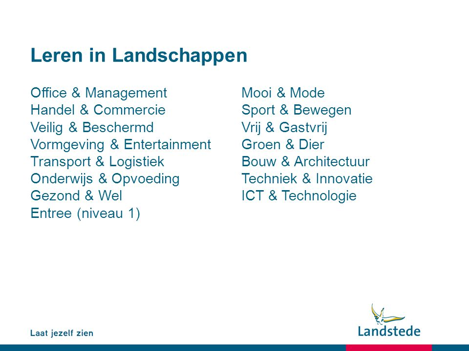 Leren in Landschappen Office & Management Mooi & Mode