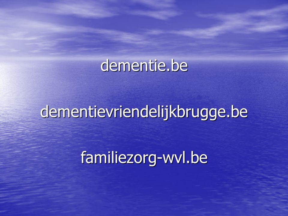 dementie.be dementievriendelijkbrugge.be familiezorg-wvl.be
