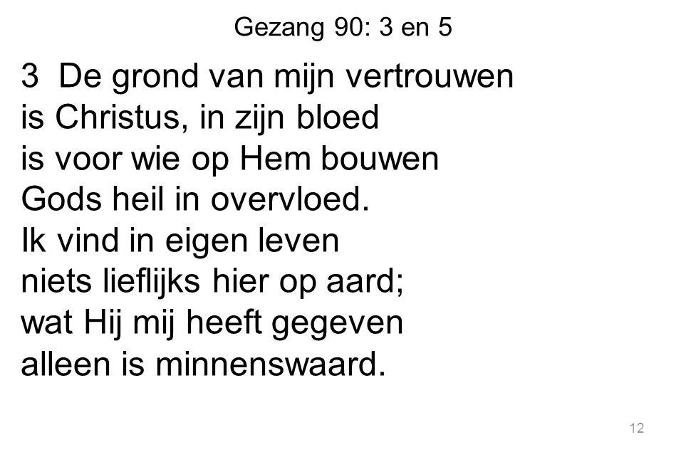 Gezang 90: 3 en 5