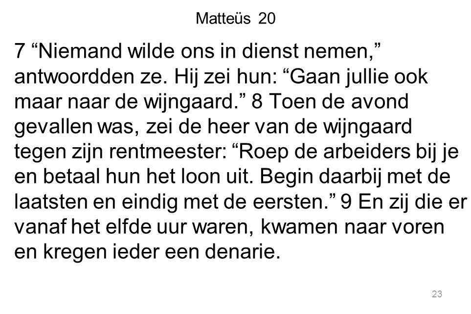 Matteüs 20
