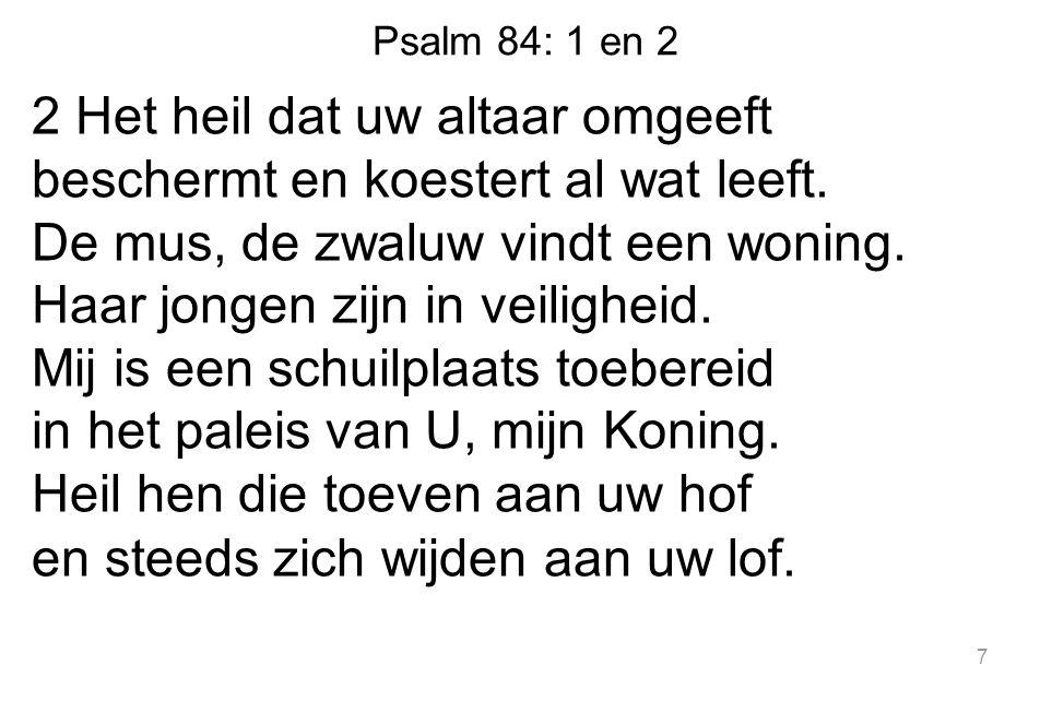 Psalm 84: 1 en 2