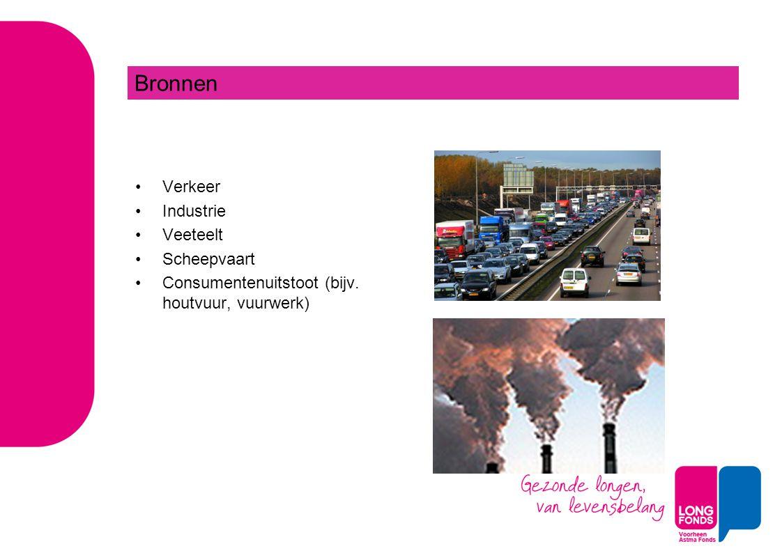 Bronnen Verkeer Industrie Veeteelt Scheepvaart