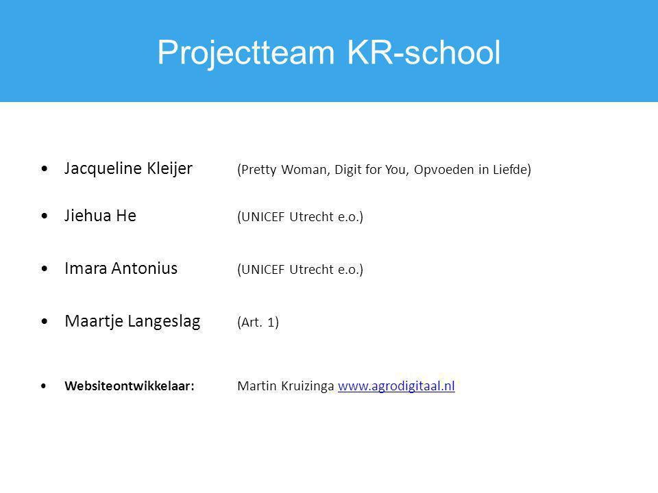 Projectteam KR-school