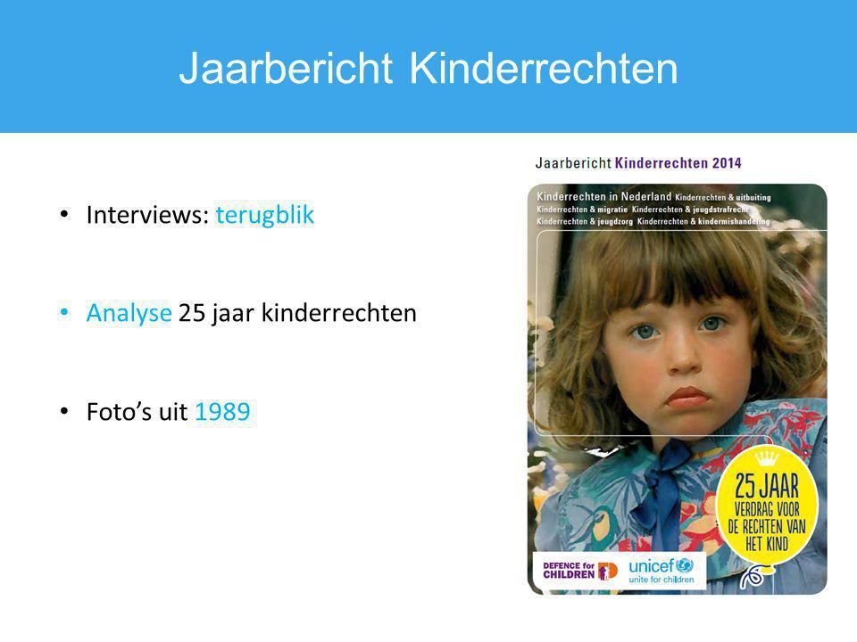 Jaarbericht Kinderrechten