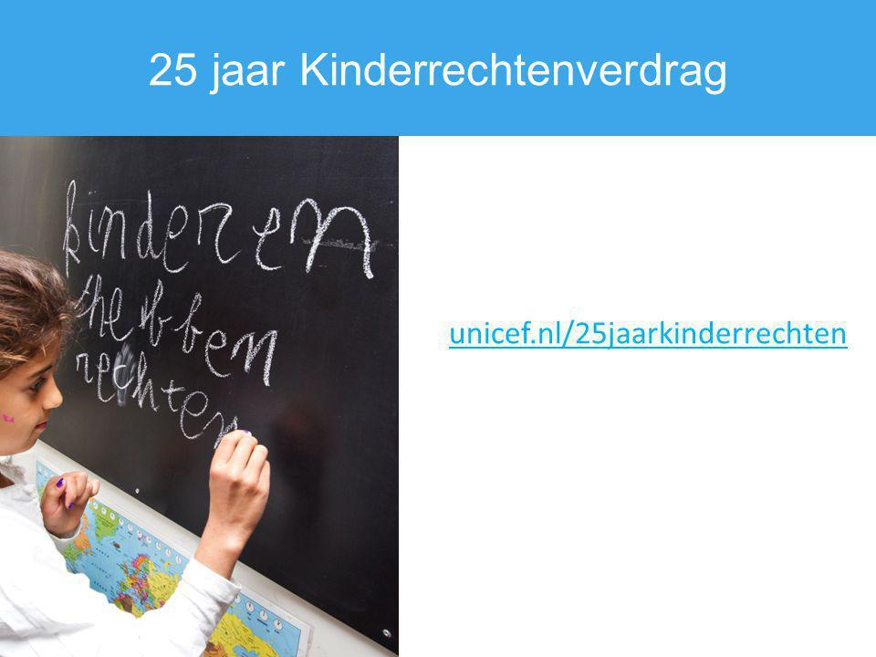 25 jaar Kinderrechtenverdrag
