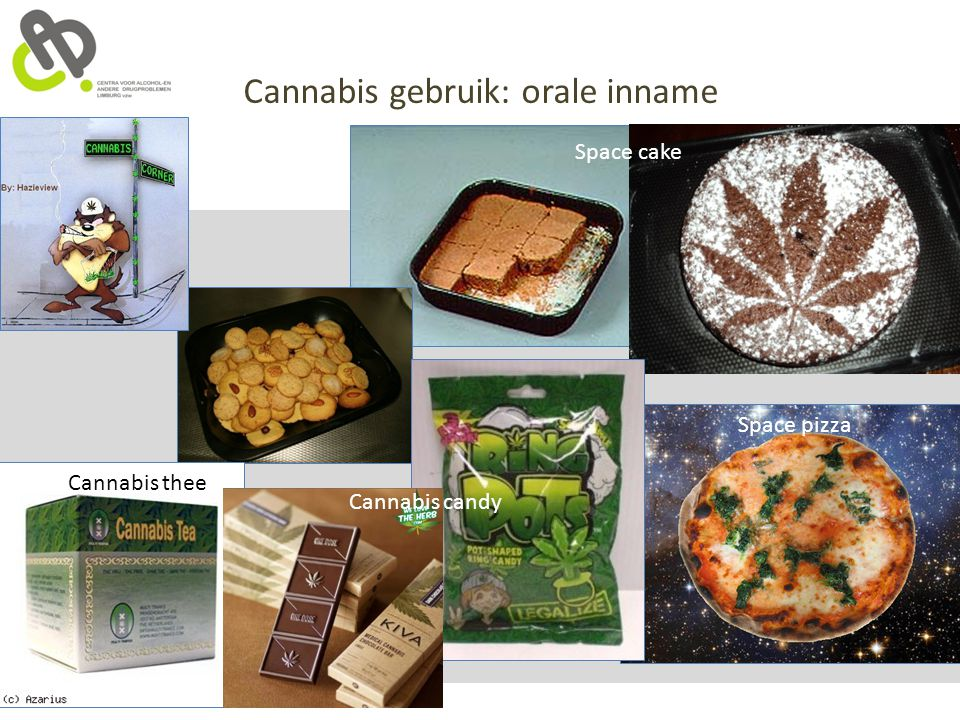 Cannabis gebruik: orale inname