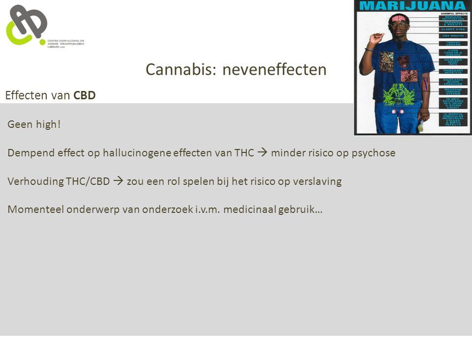 Cannabis: neveneffecten