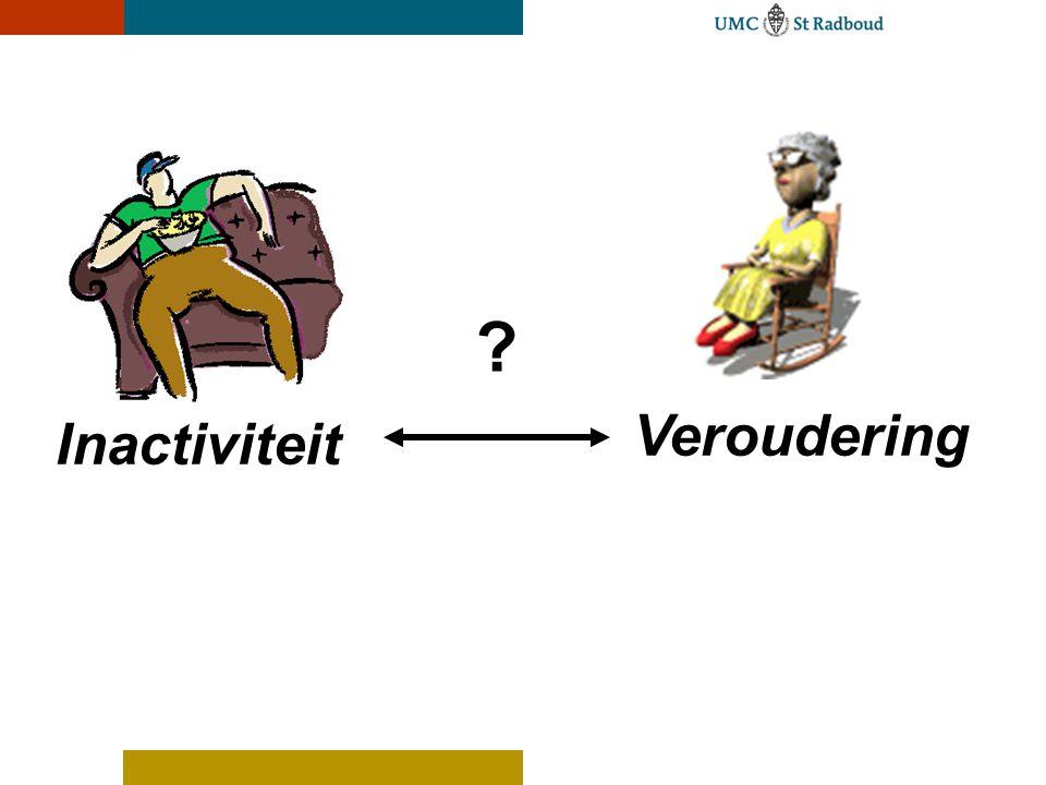 Veroudering Inactiviteit