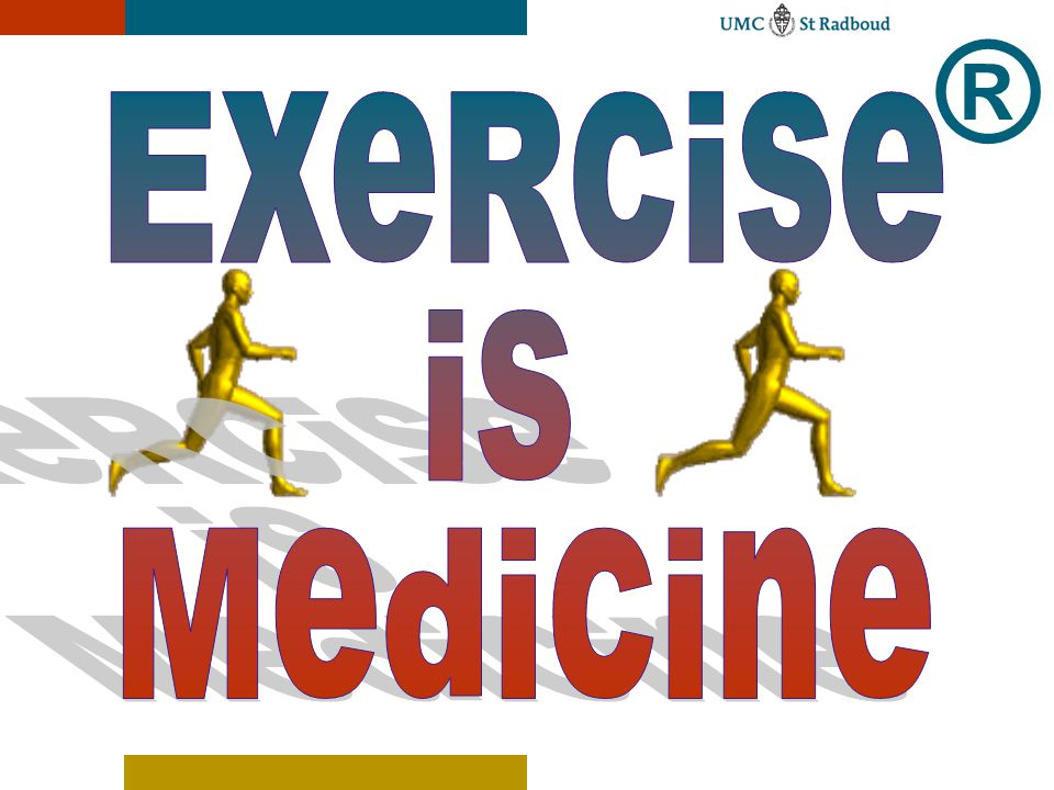 ® ExeRcise is Medicine UMC St Radboud