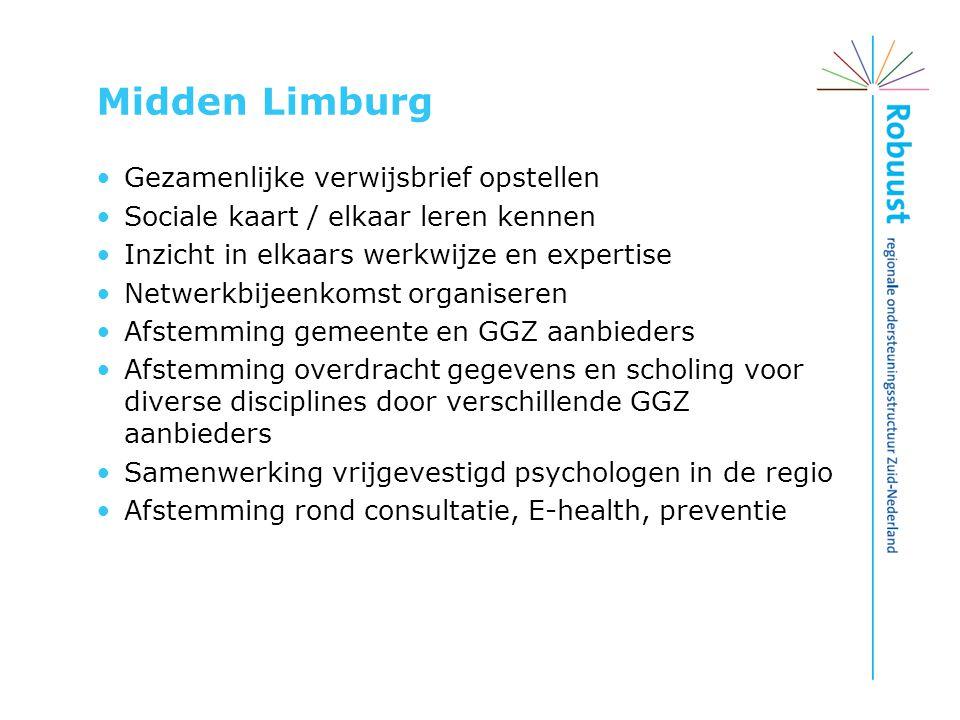 Midden Limburg Gezamenlijke verwijsbrief opstellen