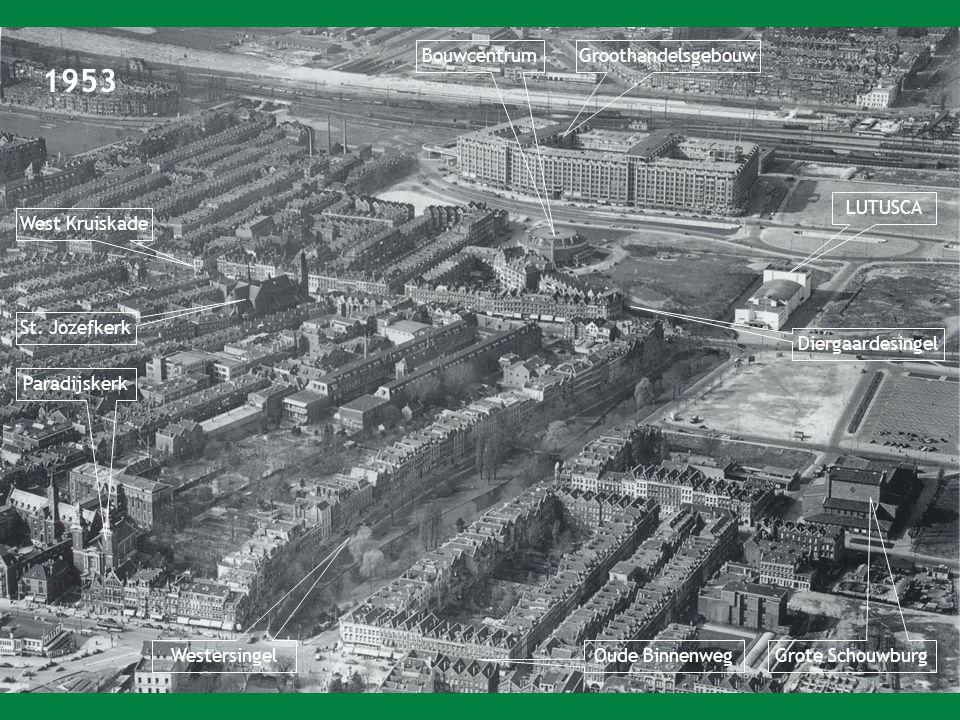 1953 Bouwcentrum Groothandelsgebouw LUTUSCA West Kruiskade