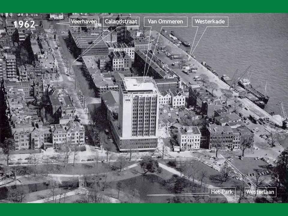 1962 Veerhaven Calandstraat Van Ommeren Westerkade Het Park Westerlaan