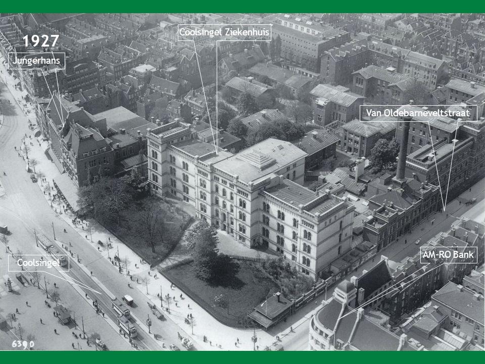 1927 Coolsingel Ziekenhuis Jungerhans Van Oldebarneveltstraat