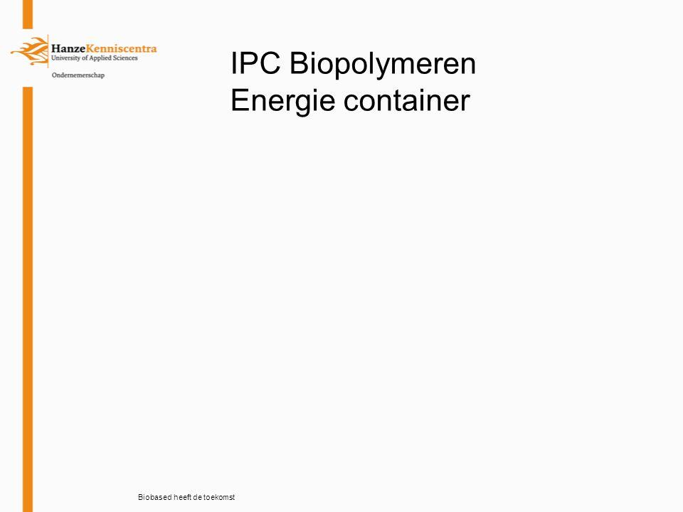 IPC Biopolymeren relatie geschenken Biobased heeft de toekomst