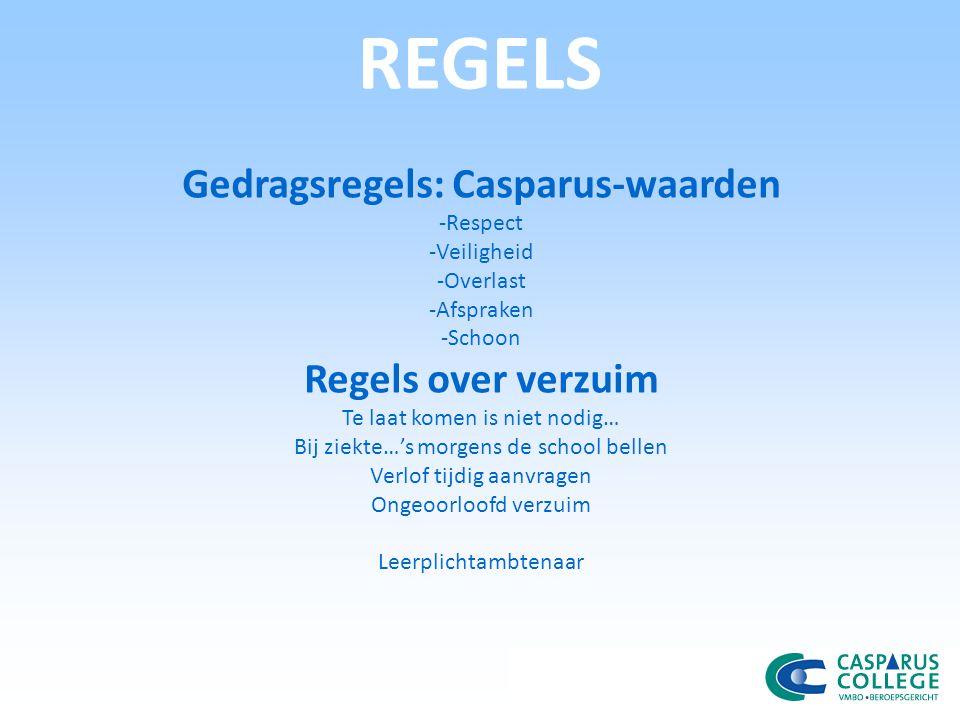 Gedragsregels: Casparus-waarden