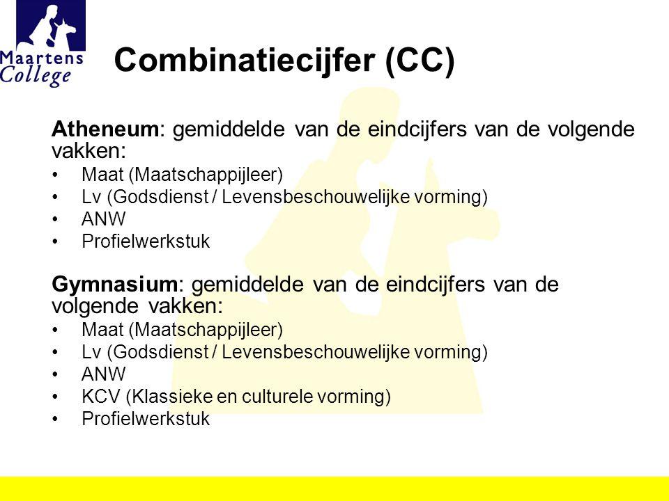 Combinatiecijfer (CC)