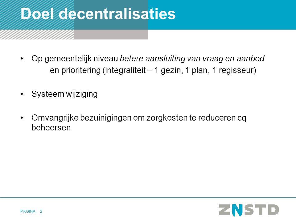 Doel decentralisaties