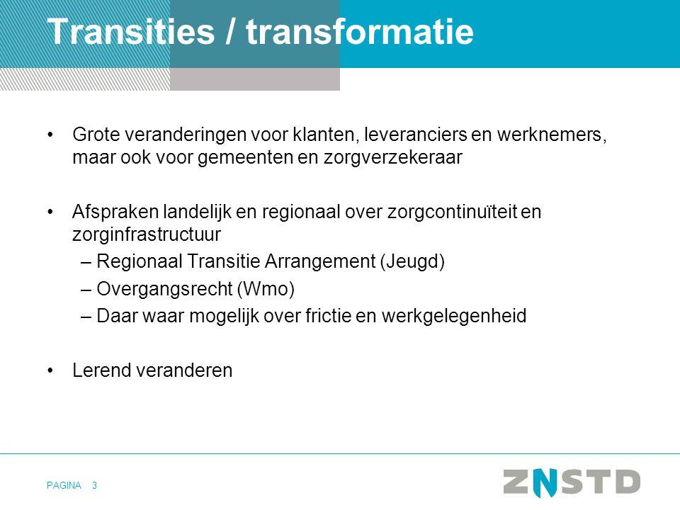 Transities / transformatie