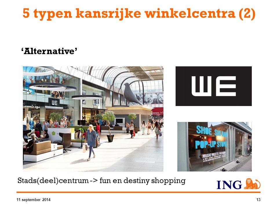 5 typen kansrijke winkelcentra (2)