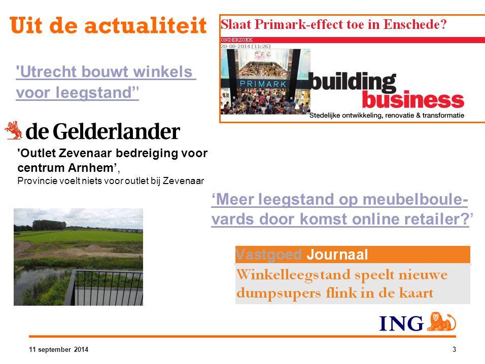 Uit de actualiteit Utrecht bouwt winkels voor leegstand'