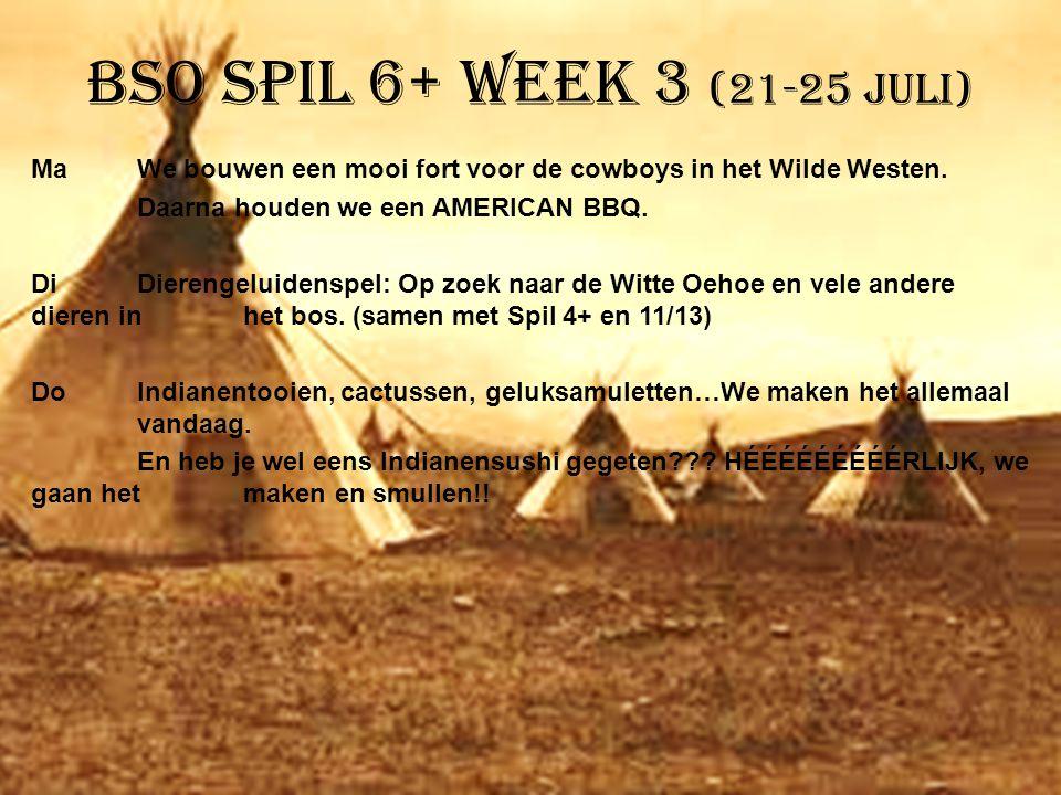 BSO Spil 6+ week 3 (21-25 juli)