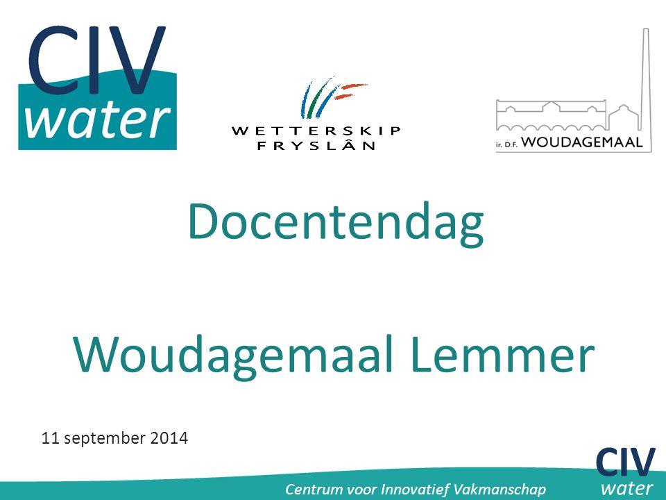 Docentendag Woudagemaal Lemmer CIV 11 september 2014