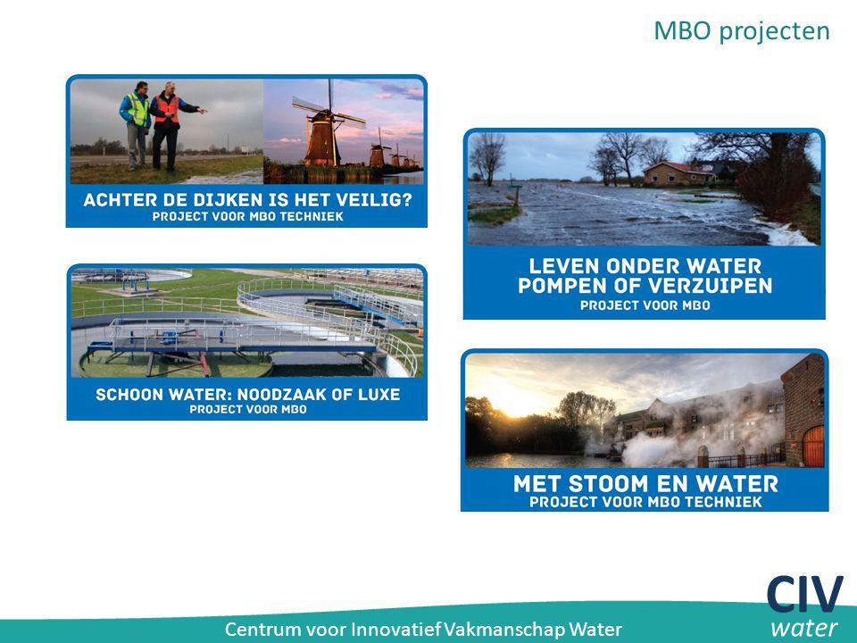 MBO projecten CIV water Centrum voor Innovatief Vakmanschap Water