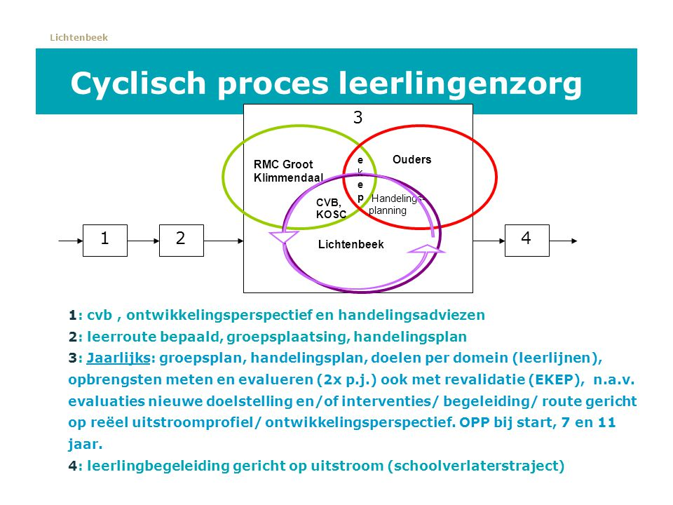 Cyclisch proces leerlingenzorg