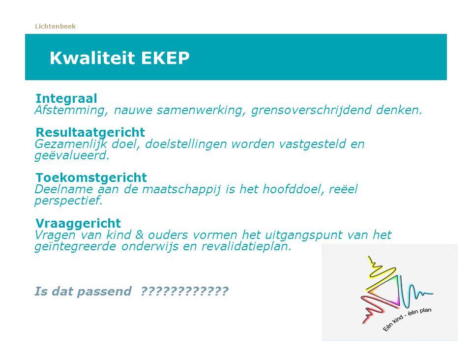 Kwaliteit EKEP Integraal