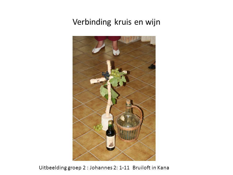 Verbinding kruis en wijn