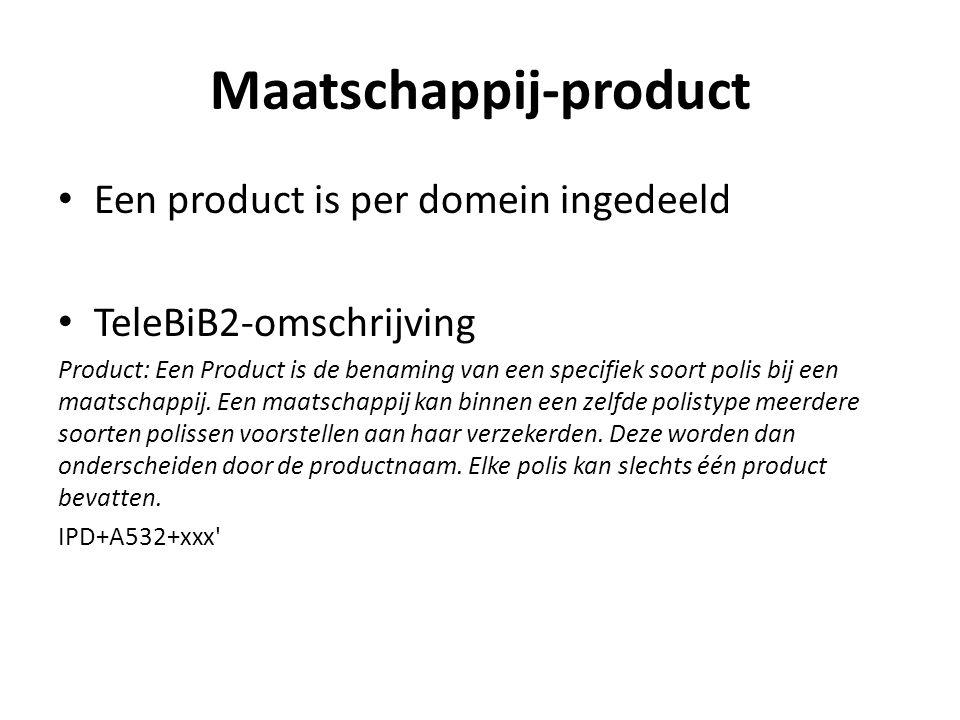 Maatschappij-product